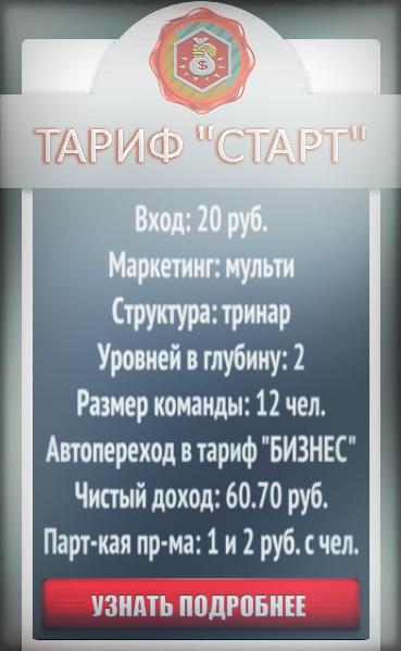 Тариф СТАРТ